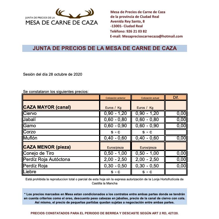 precioscazaciudadreal2810
